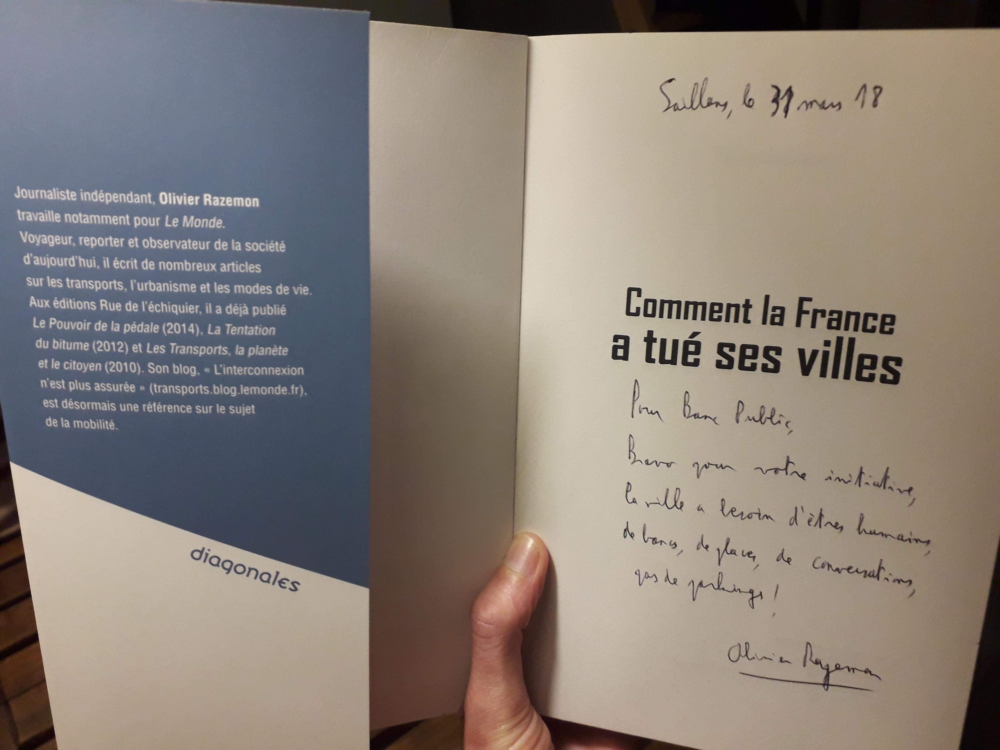 Olivier Razemon Comment La France Tue Ses Villes